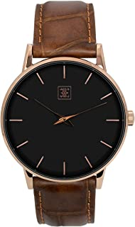 Classic Mens Watches, 40mm Watches for Men, 5ATM Water Resistant