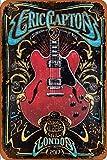 Cimily Eric Clapton Final Tour Poster Vintage Blechschild