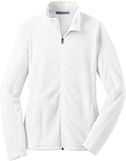 L223 Ladies Microfleece Jacket, White