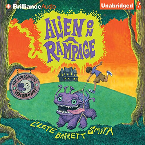 Alien on a Rampage audiobook cover art