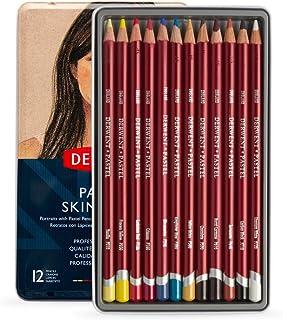 Derwent 2300563 Skintones Pastel Pencils, Colouring Pencils for Portrait Drawing, Professional Quality, Multicolor, Set of 12