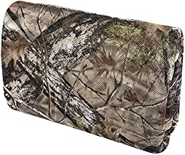 Camo Burlap Blind Material, LOOGU Camo Netting Cover 56 inch x 9.5 Feet for Hunting Ground Blinds, Tree Stands, Duck Blinds