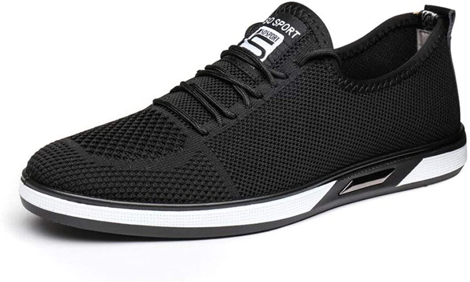 Mens Running shoes, Breathable Cross Training shoes Slip On Sneakers Lightweight Athletic Walking Footwear for Men