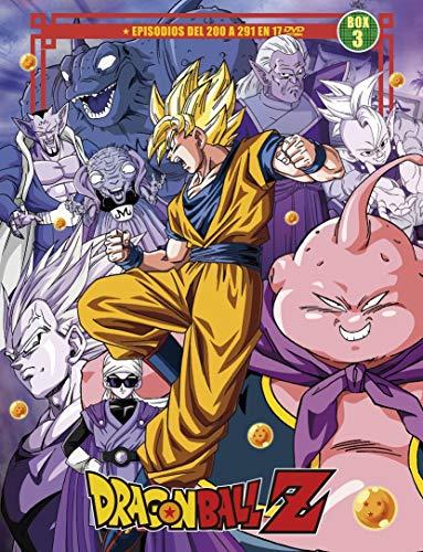 Dragon Ball Z Sagas Completas Box 3 Ep. 200 A 291 En 18 Dvd
