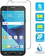 2pcs Clear Tempered Glass Crystal Screen Protector Film for Galaxy J7 Prime 2 2018/Galaxy J7 Prime 2018/On7 Prime 2018 G611 SM-G611F SM-G611F/DD G611FF/DS G611M/DS Scratch Resist 9H Hardness