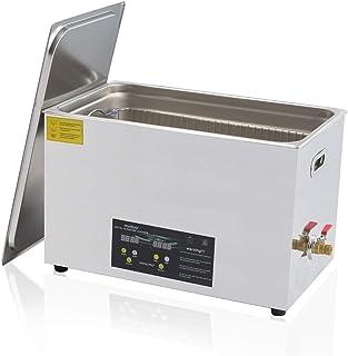 Ultrasonic Cleaner 30L Large Ultrasonic Cleaning Machine Digital Timer Heater Ultrasonic Gun Parts Cleaner