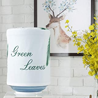 MiDubi Water Dispenser Barrel Covers, Durable Dust Proof Fabric Bucket Decor, Reusable Furniture Standard Cover Protector for Home, Office and 5 Gallon Water Bottle (Greenery)