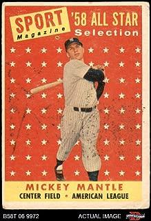 1958 topps all star set