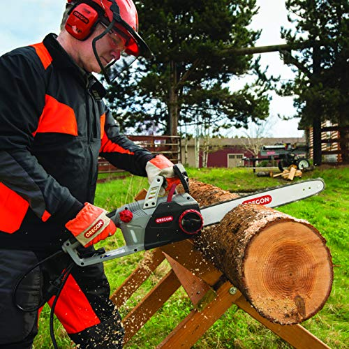 Oregon CS1500 18 in. 15 Amp Self-Sharpening Corded Electric Chainsaw