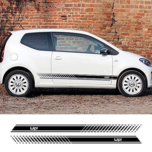 FSXTLLL Auto Seitenstreifen Seitenaufkleber Aufkleber, Für Volkswagen VW UP