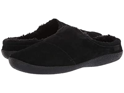 TOMS Berkeley (Black Suede) Men