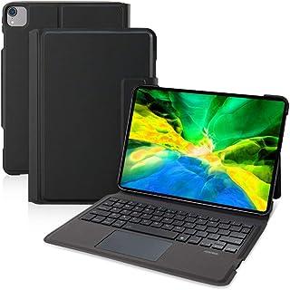 【iPad Pro 11インチ】Ewin® 新型 iPad キーボード付き ケース タッチパッド搭載 一体式Bluetoothキーボード 超薄型 ipad pro 11 第1世代/第2世代対応 2020 保護カバー 日本語説明書付き (ブラック)