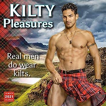 2021 Kilty Pleasures 16-Month Wall Calendar