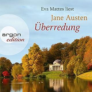 Überredung                   Autor:                                                                                                                                 Jane Austen                               Sprecher:                                                                                                                                 Eva Mattes                      Spieldauer: 9 Std. und 32 Min.     216 Bewertungen     Gesamt 4,6