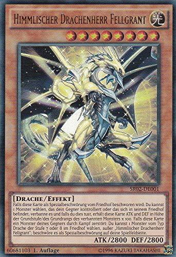 SR02-DE001 - Himmlischer Drachenherr Fellgrant - Ultra Rare - Yu-Gi-Oh - Deutsch - 1. Auflage - LMS Trading