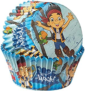 Wilton 415-2823 50 Count Disney Jake and The Never Land Pirates Baking Cups