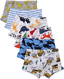 benetia Boys' Soft Cotton Underwear 6 -Pack