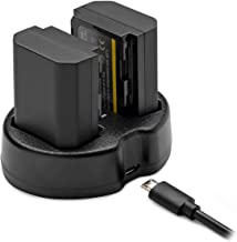 Koah PRO Sony NP-FZ100 Two-Pack Rechargeable 2000mAh Battery and Dual Charger