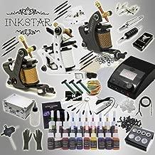Inkstar Tattoo Kit Apprentice 3 Machine Gun TKI3CC20 + Needle + Power Supply + Inks + Case
