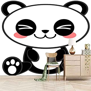 VITICP Adults Kids Wall Stickers Decals Peel and Stick Removable Wallpaper Cartoon Animal Panda for Nursery Bedroom Living...