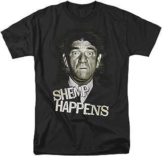 Three Stooges Men's Shemp Happens T-shirt Black