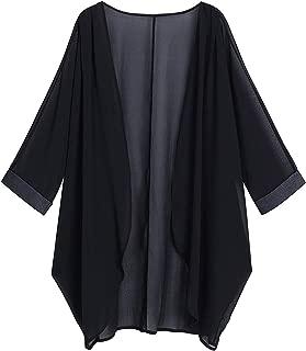Alice & Elmer Women's Kimono Sheer Chiffon Loose Cardigan