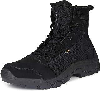 FREE SOLDIER al Aire Libre Hombres tormenta Ultraligero Tactical Botas Transpirable Zapatos Ligero y Duradero