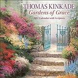 Thomas Kinkade Gardens of Grace with Scripture: 2011 Wall Calendar