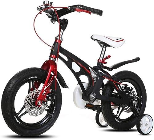 ventas en linea YUMEIGE Bicicletas Infantiles Bicicletas para para para Niños, Bicicletas para Niños con Rueda de Entrenamiento 12 14   16Ciclo de Niño y niña, Adecuado para Niños Aged2-8negro blanco Disponible  calidad de primera clase