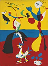 Berkin Arts Joan Miro Giclee Canvas Print Paintings Poster Reproduction (The Farmer and his Wife)