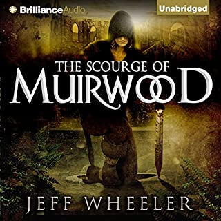 The Scourge of Muirwood cover art