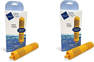 2) New NATURE 2 Zodiac W20750 Spa/Hot Tub Mineral Sanitizer Cartridge Sticks