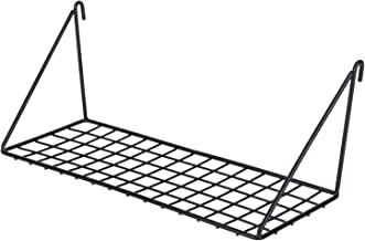 Kaforise Hanging Straight Shelf for Wire Wall Grid Panel, Small Wire Wall Organizer and Display Shelf, Size 11.8