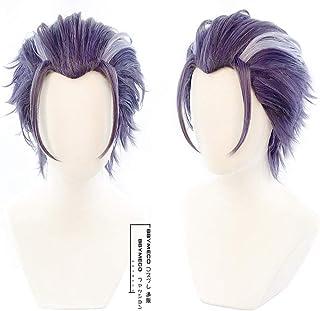 BBYMECO コスチューム 躑躅森 盧笙 コスプレウィッグ cosplay wig スタイリング櫛 ネット 付き