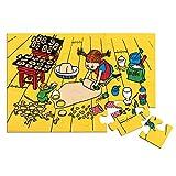 Micki & Friends 44-3785-00 Pippi Langstrumpf Bodenpuzzle Kinder-Riesenpuzzle -...