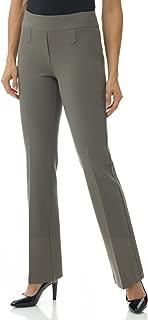 Rekucci Women's Secret Figure Pull-On Knit Bootcut Pant w/Tummy Control