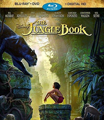 The Jungle Book Blu-Ray/DVD Combo Neel Sethi, Bill Murray