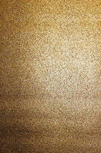 Vlies Tapete gold uni Struktur Hochwertige Qualität Stein Optik 8803-5