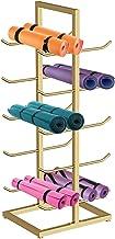 Yogamat Opbergwagen Extra Groot Organisatorrek voor Yogamatten Vloerstaand, Yogastudio Verticale Opberghouder voor Schuimr...