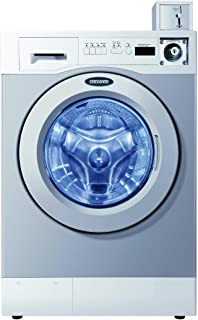 Crossover Front Load Washer 3.5 Cubic Feet Professional Quality, Heavy Duty Bearings, Seals Suspension for Super-Long, Reliable Life. Coin Box Included.