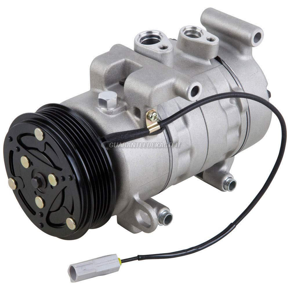 For Jaguar S-Type 2003-2008 AC Compressor w//A//C Repair Kit BuyAutoParts 60-80403RK New