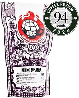 """JBC Coffee Roasters """"Kerinci Palompek Sumatra"""" Medium Roasted Whole Bean Coffee - 12 Ounce Bag"""