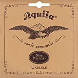 Aquila 23U Aquila Bariton-Ukulele 4-string-Satz 23U, New Nylgut, GCEA Stimmung, Saitenlänge 85 cm