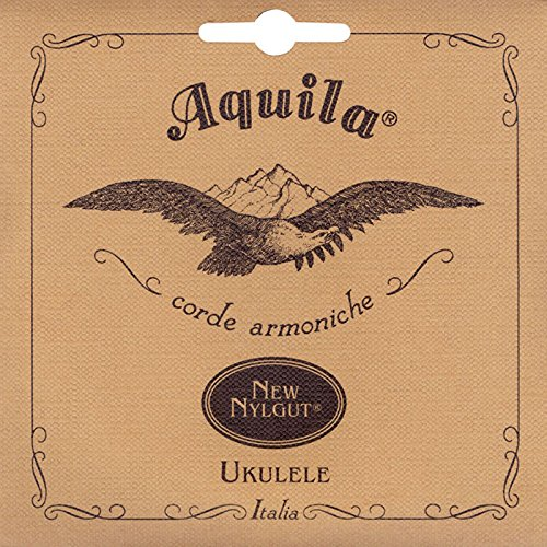 Aquila 23U Nylgut Baritone Ukulele String Set - GCEA - High G Tuning