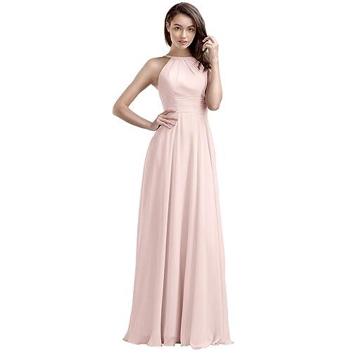 ad0b8fcbcf6 AW Bridal Chiffon Bridesmaid Dresses Long Prom Dresses Women s Formal  Dresses