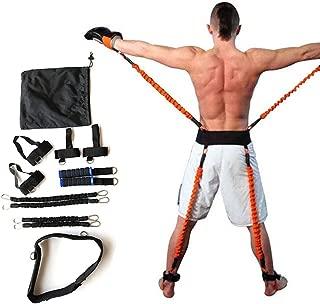 Bandas de Resistencia de Boxeo para Entrenamiento de Crossfit Correa de Entrenamiento para F/útbol Fuerza de la Pierna ITRAZ Muay Thai Fitness Voleibol Taekwondo Rebote y Agilidad Baloncesto