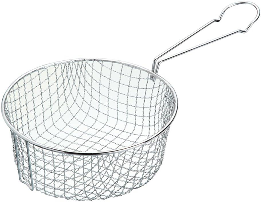 Kitchen Craft Cesta para Freír, Cesta para Freír en Sartén, Freidora, 18 cm