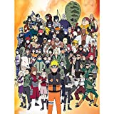 Puzzles for Adults 500 Piece Anime Suitable for Adults and Children Game Puzzles (Naruto)