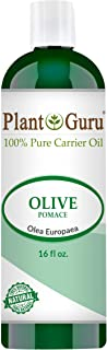 Olive Oil 16 oz Pomace Cold Pressed 100% Pure Natural Carrier - Skin, Body And Face. Great For Moisturizing Creams, Lotions, Scalp Treatments, and Lip Balms