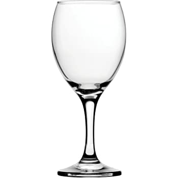 Circleware 44552 Hudson Market Wine Glasses, Set Of 4, 8 oz